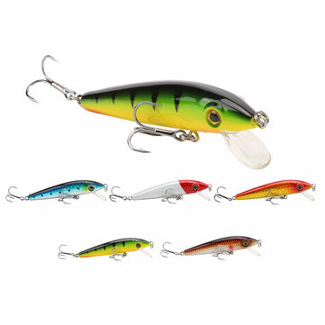 SeaKnight SK012 1PCS Minnow Fishing Lure 6g 70mm 0-0.6M Hard Bait 3D Eyes Swimbait For Carp Fishing