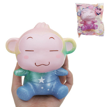 Kiibru Monkey Squishy 13*12*9CM Slow Rising With Packaging Collection Gift Soft Toy