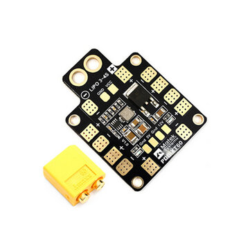 Matek Systems PDB-XT60 W/ BEC 5V & 12V 2oz Copper for RC...