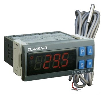 ZL-610A-R RS485 Temperature Controller Digital Thermometer Cold Storage Temperature Controller Thermostat with Modbus