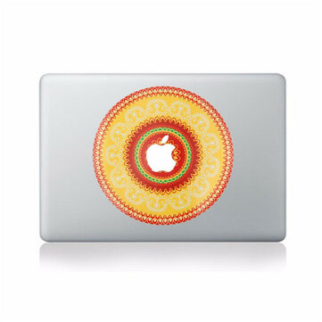 Elma MacBook için Güzel Çiçek Decal Vinil Sticker Skin Laptop Sticker Decal 11 '' 12 '' 13 '' 15 '' 17