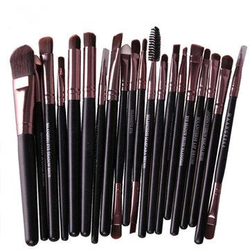 20Pcs Makeup Brushes Set Powder Eyeshadow Eyeliner Lip Cosmetic Brush Tool