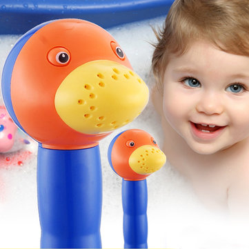Cartoon Duck Creative Bathroom Handheld Shower Head For Kids Baby
