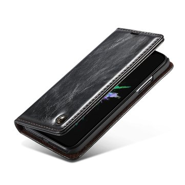 Caseme Magnetic Flip Wallet Card Slot Kickstand Case For iPhone X