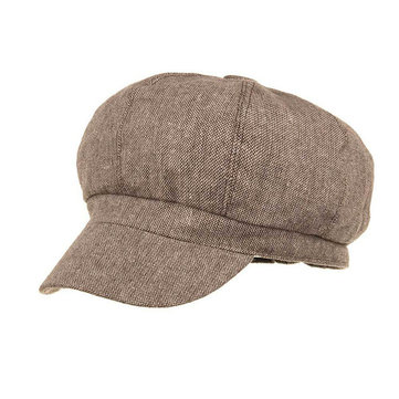 Unisex Cotton Summer Beret Cap New Trendy Brief Design Causal Outdoor Hat