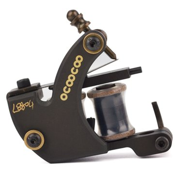 OCOOCOO L8804 T500A 9000 rev / min Master Carved Copper Secant Tattoo Machine