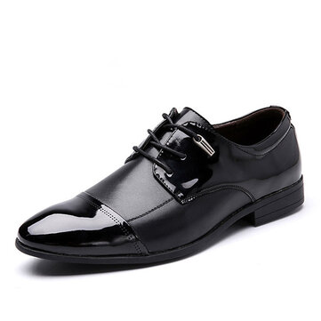 Big Size Lace Up Formal Shoes