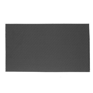 420x250x0.4mm Carbon Fiber Plate Black 3K Twill Matte Panel Sheet Board