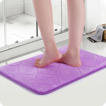 40x60cm Absorbent Soft Memory Foam Mat Bath Rug Anti Slip Carpet