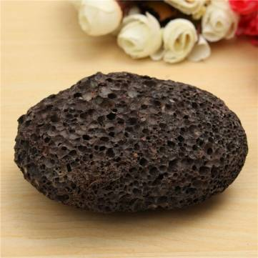 Natural Volcanic Lava Stone Foot Care Hard Skin Callus Remover Pedicure Tool