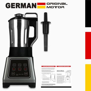 G7000 GERMAN Original Motor Cook Soup Maker and Blender Mixer with Built-In Heating Element Stainless Steel Pitcher
