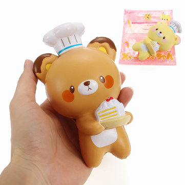 Yumeno Squishy Chocolate Vanilla Bear 15cm Slow Rising Original Packaging Collection Gift