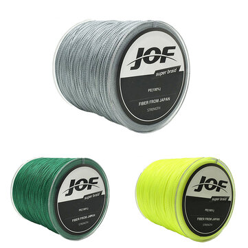 JOF 300M PE Braided 8 Strands 22-61 LB High Sensibility Super Strong Fishing Line Sea Fishing