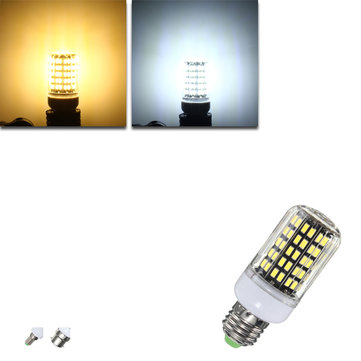 E27 E14 B22 10W 108 SMD 5733 1250LM LED Cover Corn Light Lamp Bulb AC220V