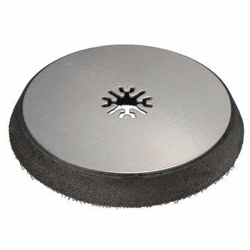 Disc Sand Base Steel and EVA Sanding Pad Oscillating MultiTool For Bosch Fein