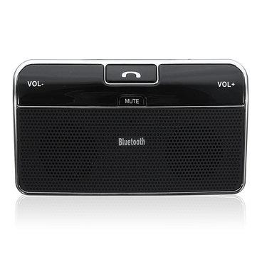 Silm Wireless bluetooth Hands Free Speaker Phone MP3 Car Kit Sun Visor Clip Drive