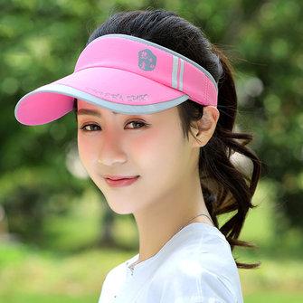 Kvinnor Tom Top Solskydd Baseball Cap Utomhus Sport Justerbar Visor Hat