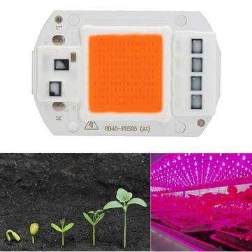 5pcs 50W 220V Full Spectrum LED COB Chip Grow Light for Plant