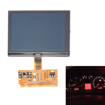 Car Vehicle Chic VDO LCD Cluster Speedometer Display Screen for Audi A3 A4 A6