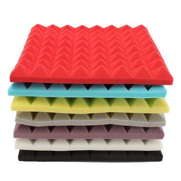 500×500×50mm Square Insulation Reduce Noise Sponge Foam Cotton - 7Colors