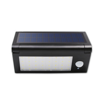 6.4W 32LED Foldable PIR Motion Sensor IP65 Waterproof Solar Powered Wall Light DC3.7V