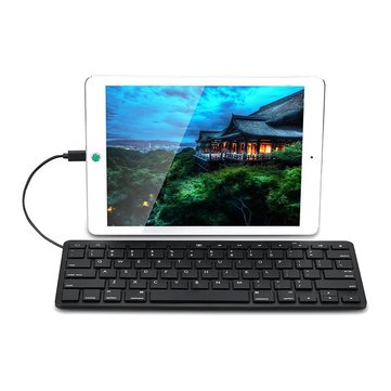 8-pin Lightning Port Wired Keyboard For iPad Pro 12.9