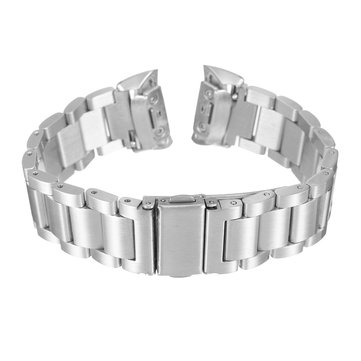 Stainless Steel Bracelet Watch Band Wrist Strap for Samsung Gear Fit 2