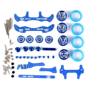 Aluminum Alloy Kit Glass Fiber DIY Four Wheel For 4WD Yangxie Tiangong MA Chassis SUV RC Car Parts