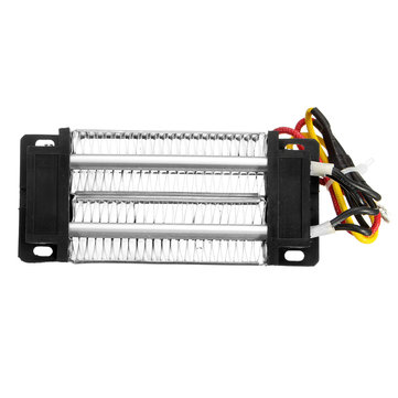 AC/DC 12V 200W Insulated PTC Ceramic Air Heater Constant Temperature Heating Element Incubator