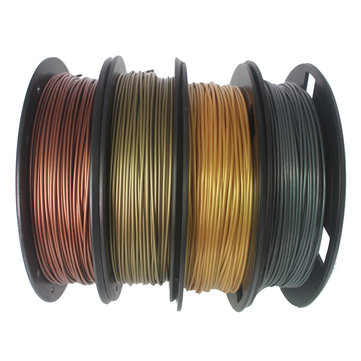 CCTREE® Bronze+Copper+Gold+Silver 1.75mm 200g/Roll PLA Filament Set for 3D Printer Reprap