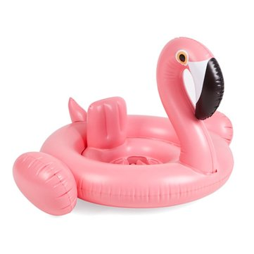 IPRee™ Baby Swim Ring Donut Seat Inflatable Flamingo Float Summer Pool Children Kids