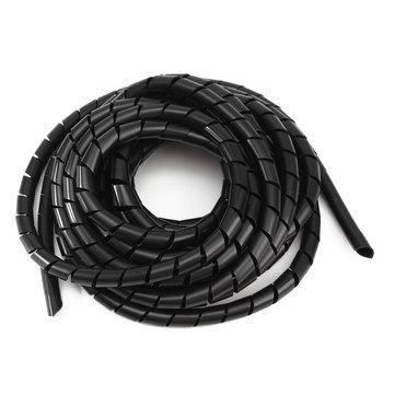 Schwarze Spirale Polyethylen Kabel Elektrische Draht Verpackungs ...