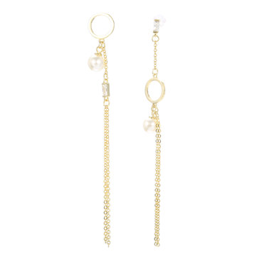 JASSY 925 Sterling Silver Ear Drop Earring