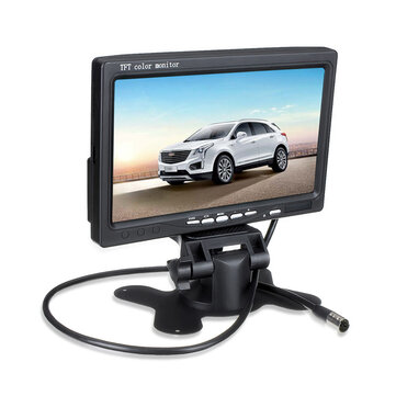 7 Inch TFT LCD Screen Car Monitor For Reversing Rear View Camera
