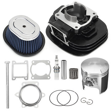 Cylinder Piston Top End Gasket Air Filter Set For Yamaha-Blaster 200 YFS200