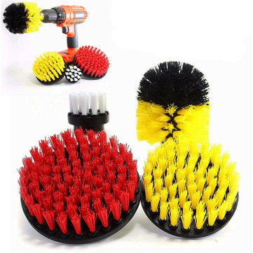 4pcs Power Scrub Drill Cleaning Brush Set 2-5 Inch Electric Drill Cleaning Brush