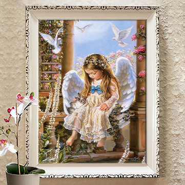 30x43cm 5D DIY Tender Love Diamond Painting Resin Full Rhinestone Home Decoration Figure Cross Stitch Kit