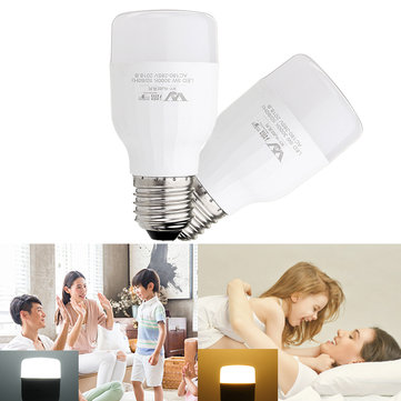 E27 5W 10W 15W 20W SMD2835 Pure White Warm White LED Light Bulb No Flicker for Home Decor AC220V