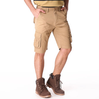Big Men's Cotton Shorts Pants Casual Multi Pockets Cargo