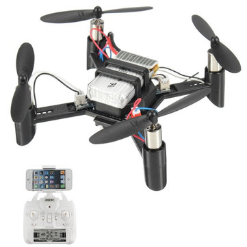 DM002 Mini WIFI FPV With 0.3MP Camera 2.4GHZ 4CH 6-Aixs RC Drone Quadcopter RTF