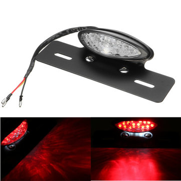 12V Motorcycle Turn Light Hi/lo Beam Rear Tail Brake Stop Lamp Bike LED Number License Plate Lamp