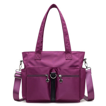 Women Nylon Waterproof Casual Handbag Shoulder Bag