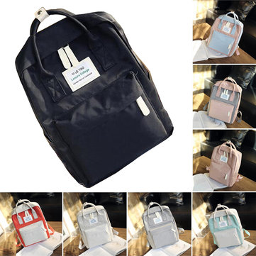 Outdoor Nylon Travel Bag Backpack Big Capacity Handbag For Girls Schoolbag Female Women