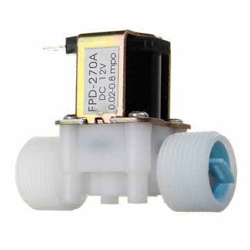 G3/4 12V PP Normally Closed Type Solenoid Valve Water Diverter Device