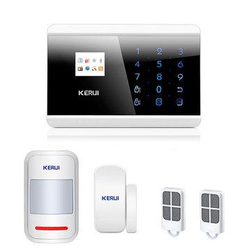 KERUI 8218G LCD Wireless GSM SMS PSTN Auto Dial Home Office Burglar Intruder Security Alarm System