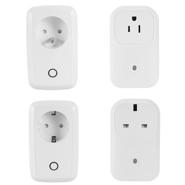 WiFi Wireless Mobile APP Remote Control Switch Smart Plug Socket Work With Alexa