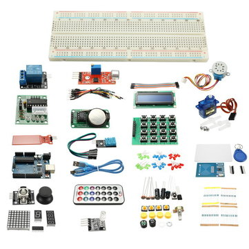 RFID Master Kit With Motor Relay LCD Servo For Arduino AVR Starter