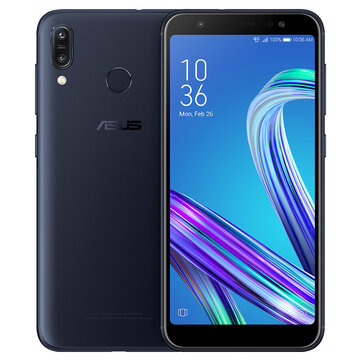 Asus ZenFone Max (M1) Global Version 5.5 Inch HD+ 4000mAh Face Unlock Andriod 8.0 2GB 16GB Snapdragon 425 4G Smartphone Smartphones from Mobile Phones & Accessories on banggood.com