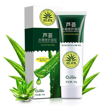 40g Coolsee Aloe Vera Gel Soothing Remove Acne Moisturizing