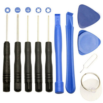 Bakeey 11pcs Opening Pry Screwdrivers Set Repair Tool Kits for Samsung iPhone Xiaomi
